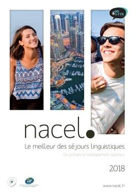 Brochure Séjours linguistiques du primaire à l'enseignement supérieur - Nacel